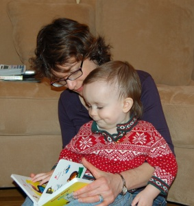 Reading wth Mom
