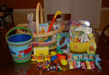 The Easter Haul