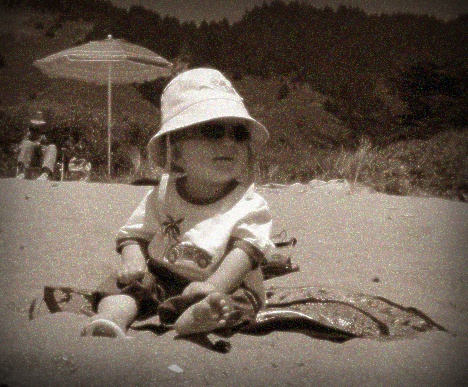 Ghost Baby at Stinson Beach