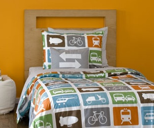 Dwell twin duvet set