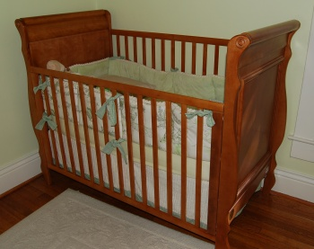 The Well-Loved Crib